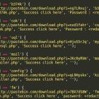 Website Backdoor Scripts Leverage the Pastebin Service